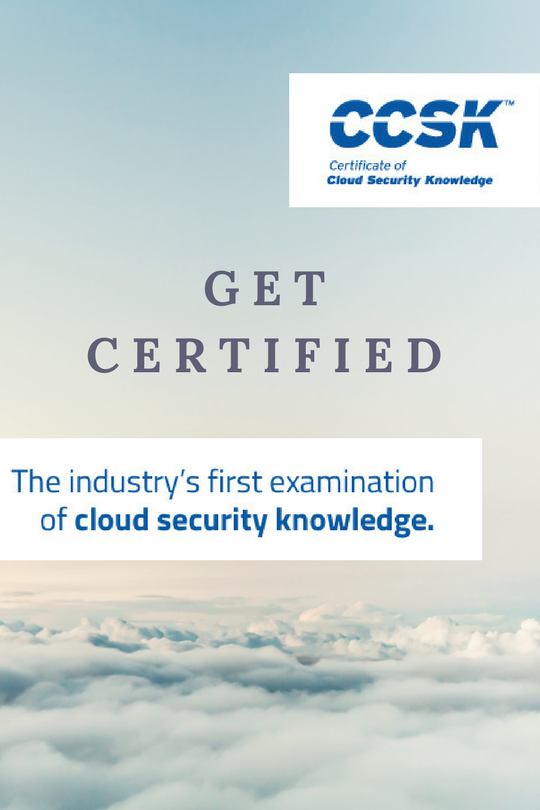 CCSK Certification