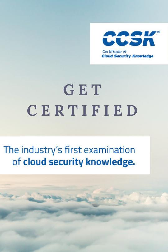 CCSK Certification